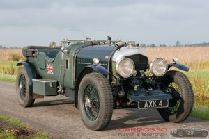 1934 Bentley Open Tourer type Le Mans with FIVA Identity Card For Sale