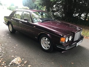 1994 Bentley turbo r auto ,wildberry metallic red, For Sale
