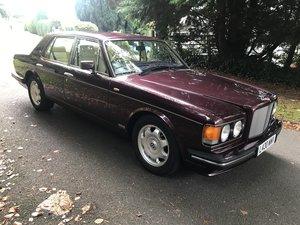 1994 Bentley turbo r auto ,wildberry metallic red,