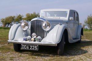 1939 1940 Derby Bentley MX series Vanden Plas overdrive Pillarles For Sale
