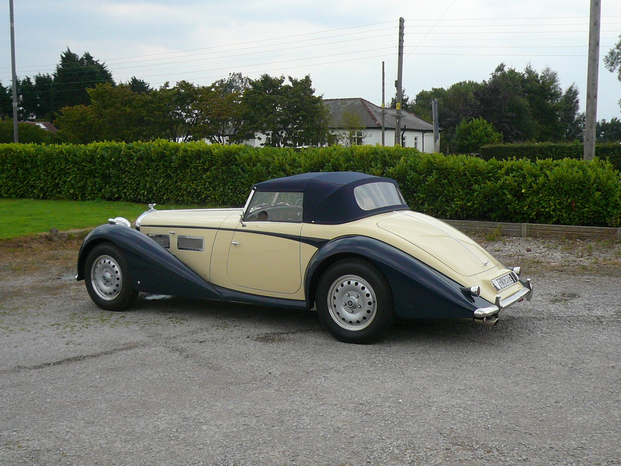 1950 Bentley Special built to order For Sale (picture 1 of 6)