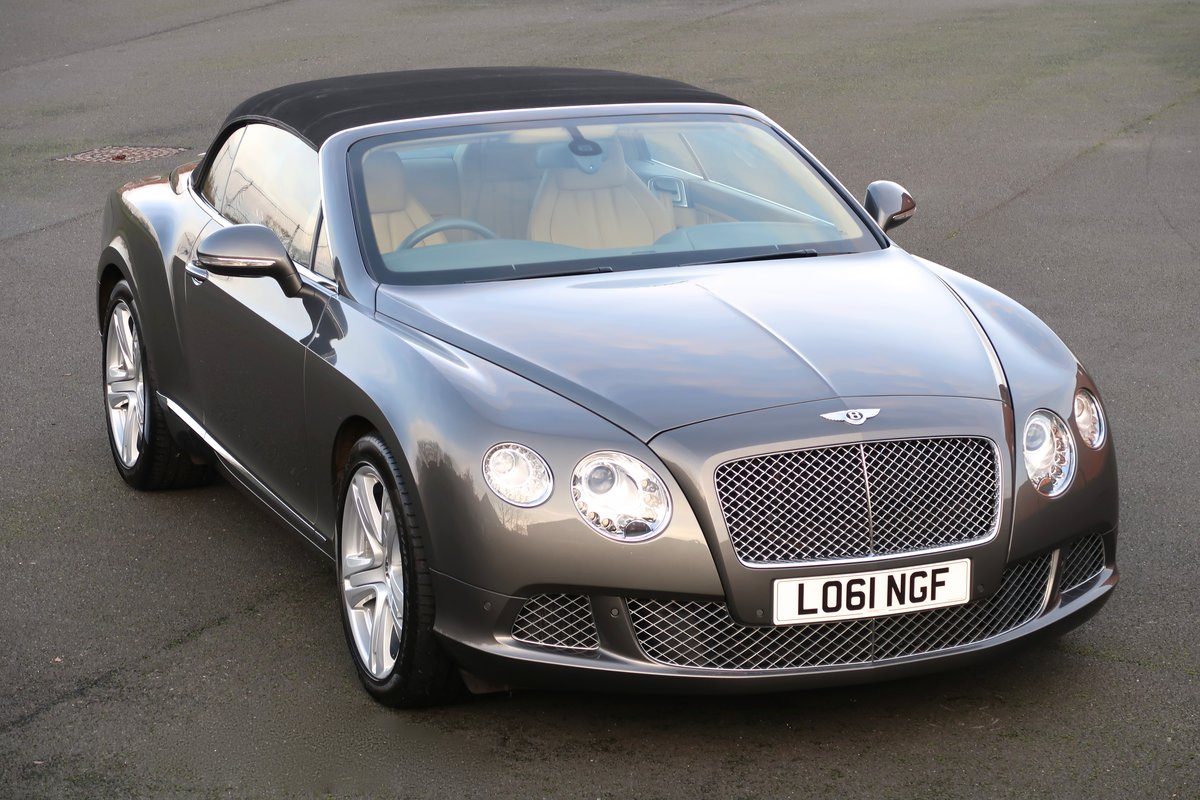 2012 BENTLEY CONTINENTAL GTC For Sale (picture 1 of 6)