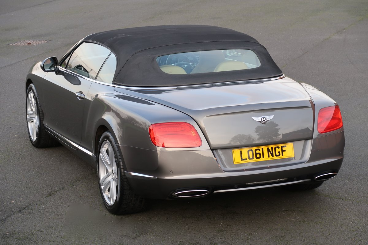 2012 BENTLEY CONTINENTAL GTC For Sale (picture 2 of 6)