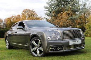 2017 BENTLEY MULSANNE SPEED PREMIER SPEC FACELIFT For Sale