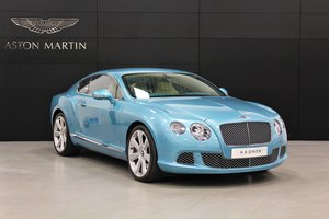 2011 Bentley Continental GT W12 One Owner-Only 5,733 Miles SOLD