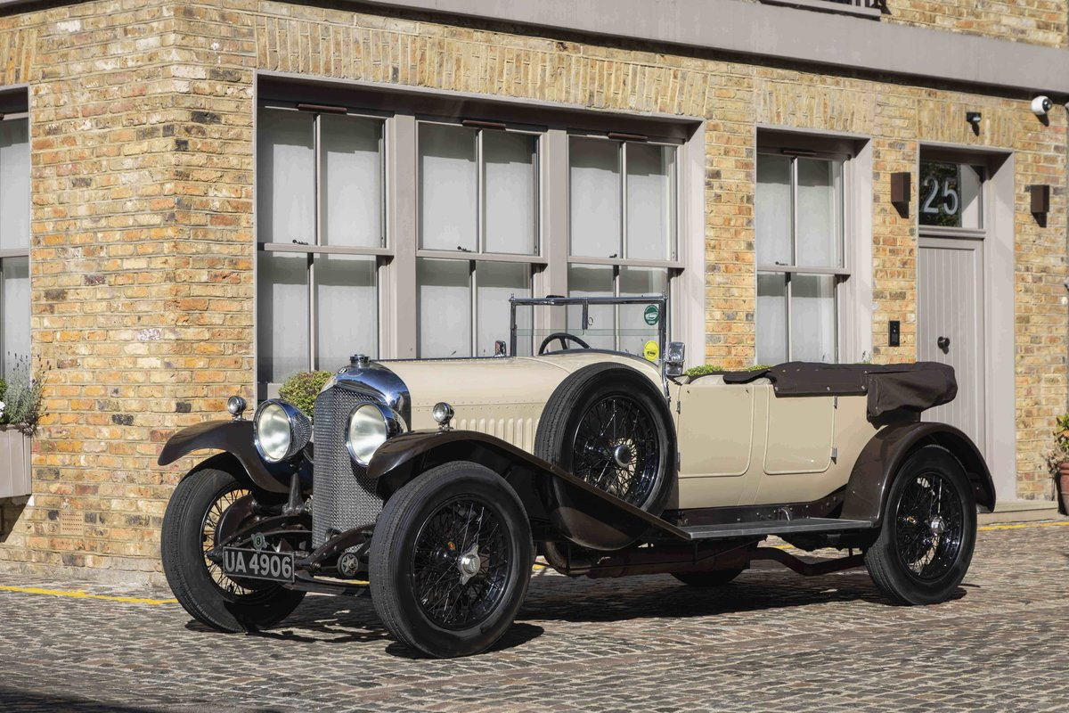 1928 Bentley 4 12 Litre Vanden Plas Style Tourer For Sale (picture 1 of 8)