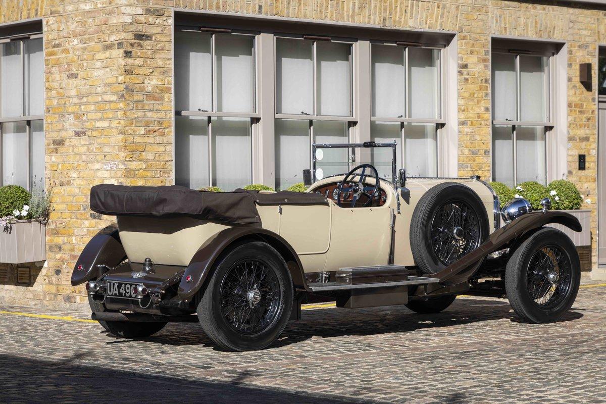 1928 Bentley 4 12 Litre Vanden Plas Style Tourer For Sale (picture 2 of 8)