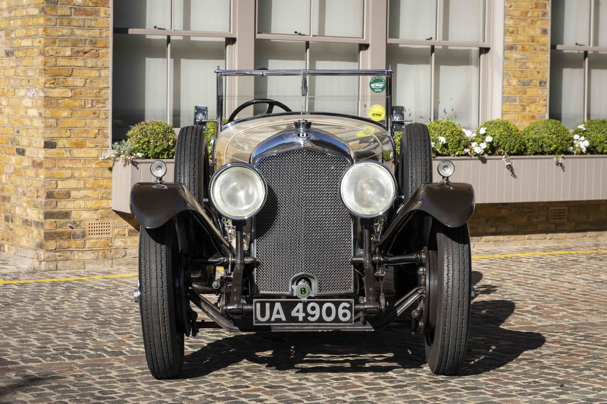 1928 Bentley 4 12 Litre Vanden Plas Style Tourer For Sale (picture 3 of 8)