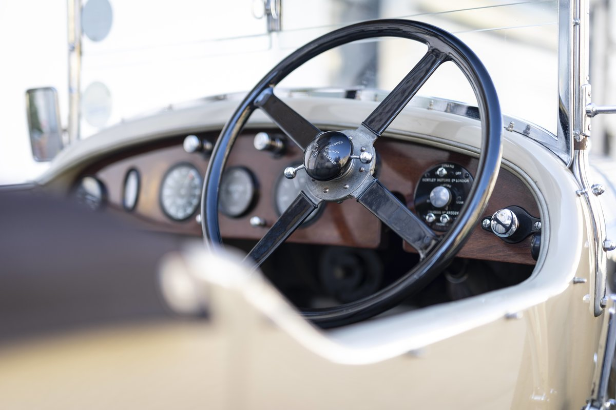 1928 Bentley 4 12 Litre Vanden Plas Style Tourer For Sale (picture 4 of 8)
