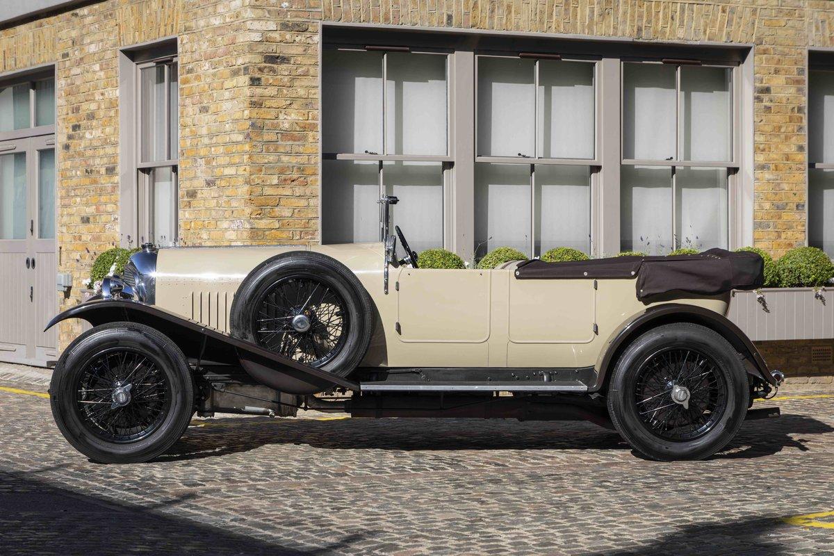 1928 Bentley 4 12 Litre Vanden Plas Style Tourer For Sale (picture 5 of 8)