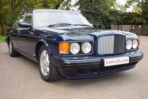 1997 P Bentley Turbo RL MK IV in Peacock Blue For Sale