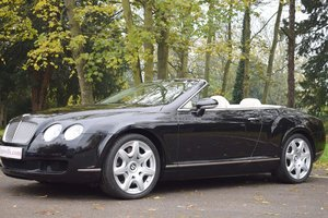 2009/59 Bentley Continental GTC Mulliner in Onyx For Sale