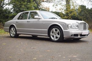2002/52 Bentley Arnage T Mulliner in Silver Storm For Sale
