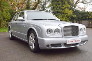 2007/07 Bentley Arnage T Mulliner in Moonbeam Silver