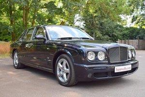2008/57 Bentley Arnage T Mulliner Level 2 in Black Sapphire For Sale