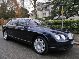 BENTLEY CONTINENTAL FLYING SPUR 2005 22780m BFSH / SAPPHIRE For Sale