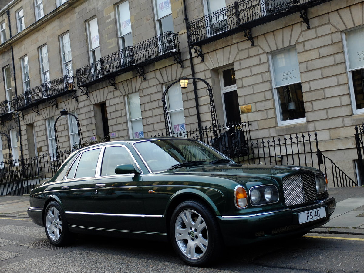 1998 BENTLEY ARNAGE 4.4 GREEN LABEL - JUST 47K MILES - STUNNING ! SOLD (picture 1 of 6)
