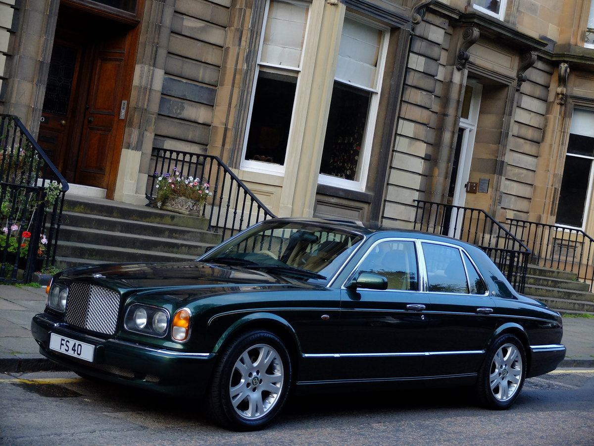 1998 BENTLEY ARNAGE 4.4 GREEN LABEL - JUST 47K MILES - STUNNING ! SOLD (picture 2 of 6)