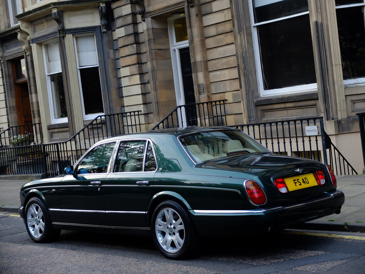 1998 BENTLEY ARNAGE 4.4 GREEN LABEL - JUST 47K MILES - STUNNING ! SOLD (picture 3 of 6)