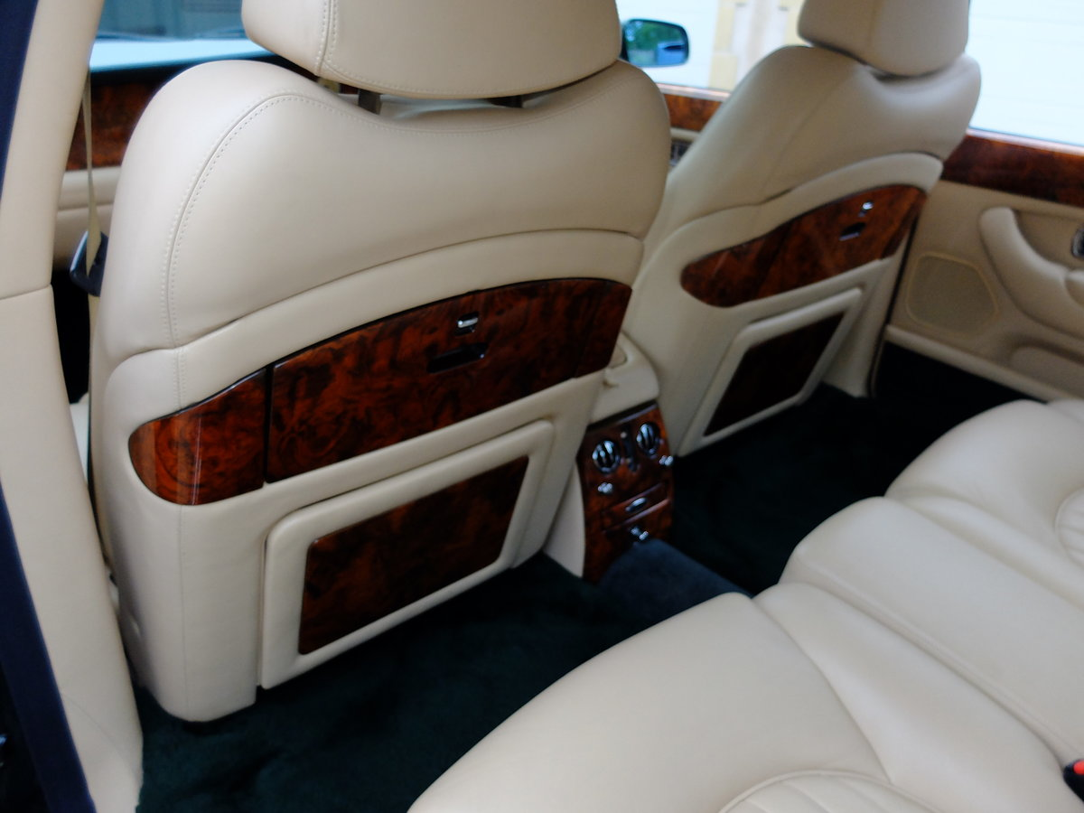 1998 BENTLEY ARNAGE 4.4 GREEN LABEL - JUST 47K MILES - STUNNING ! For Sale (picture 5 of 6)