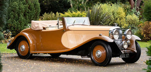 1933 Bentley 3½-Litre Cabriolet For Sale by Auction