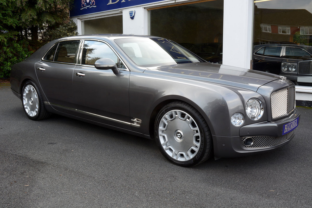 2010 2011 Model Bentley Mulsanne For Sale (picture 3 of 6)