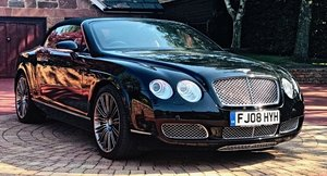 2008 BENTLEY CONTIENTAL GTC Convertible W12