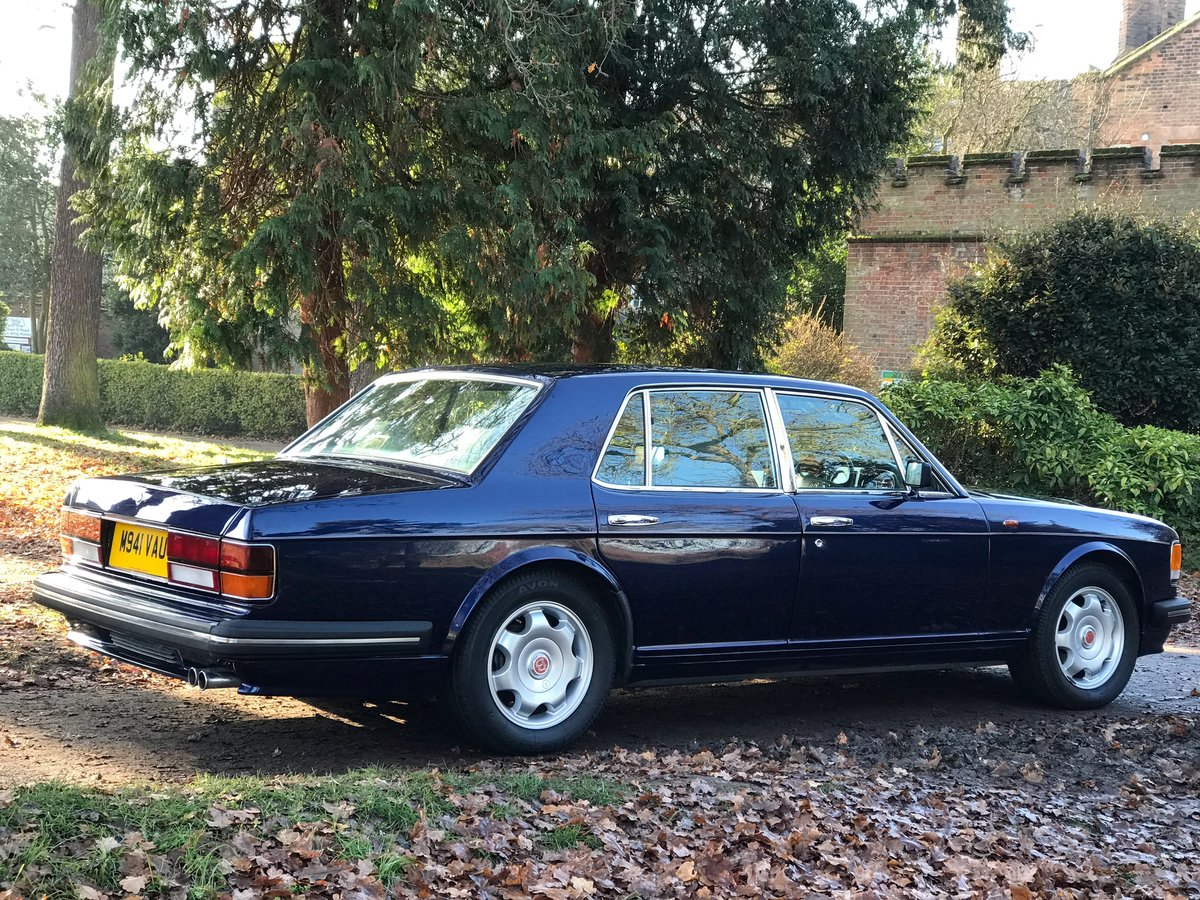 1995 Bentley Turbo R Peacock Blue FSH Immaculate  For Sale (picture 1 of 6)