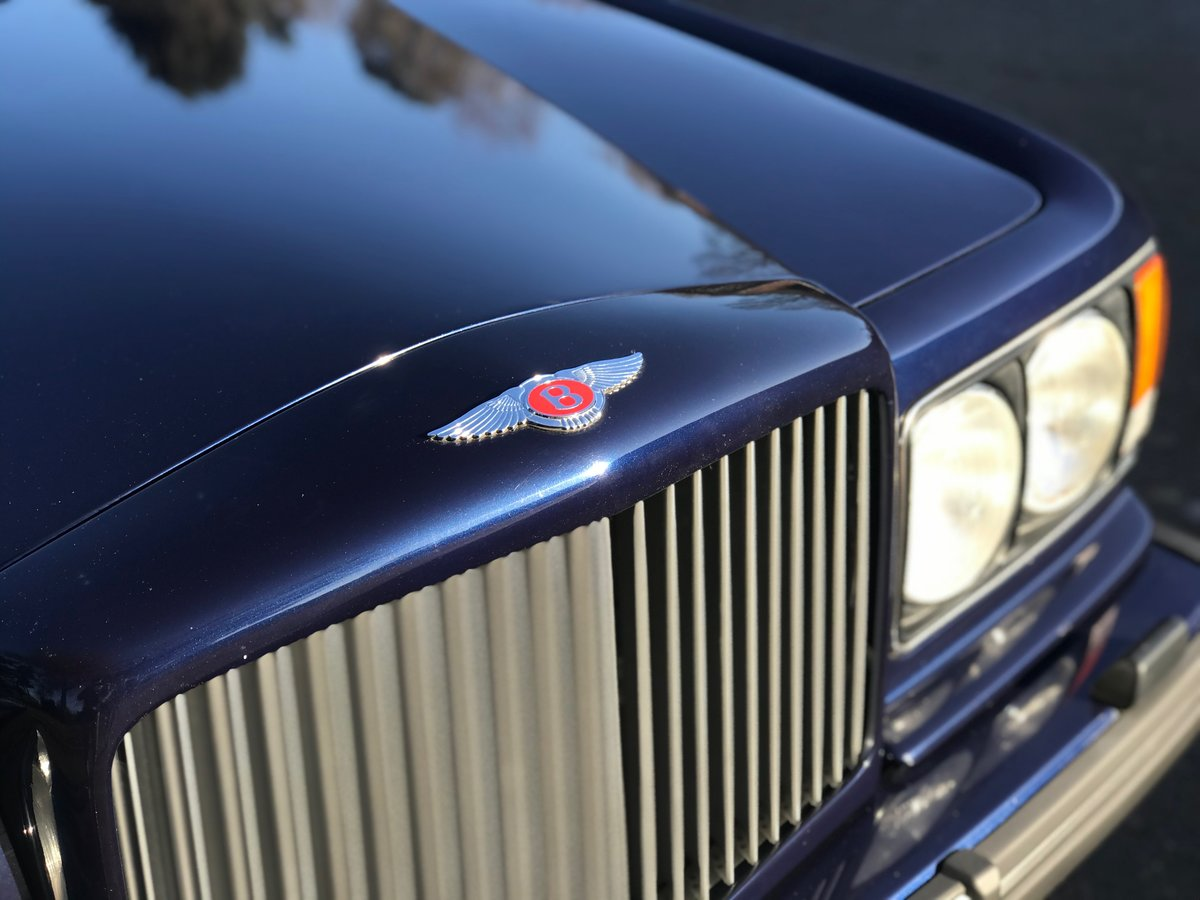 1995 Bentley Turbo R Peacock Blue FSH Immaculate  For Sale (picture 2 of 6)