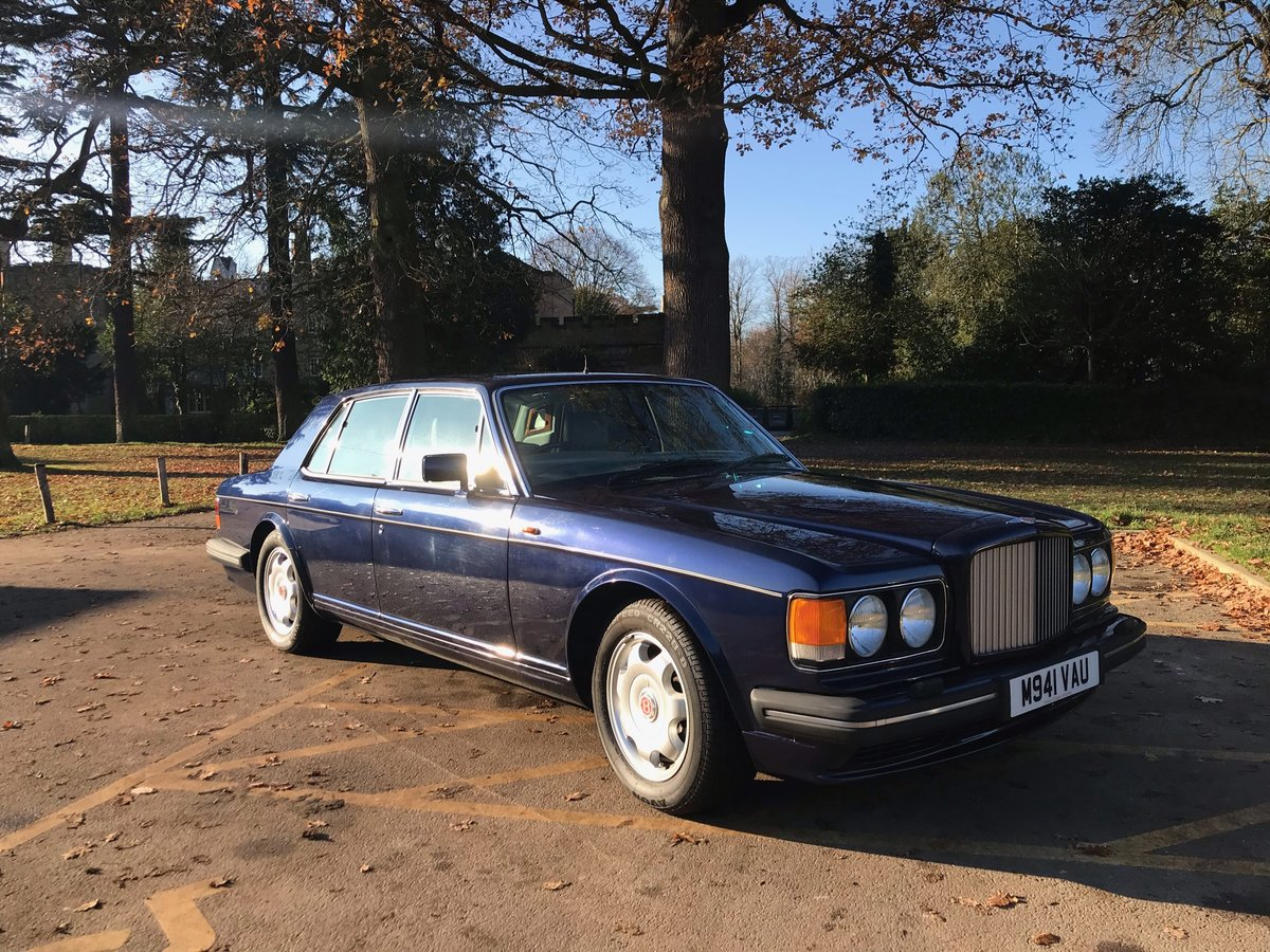 1995 Bentley Turbo R Peacock Blue FSH Immaculate  For Sale (picture 4 of 6)