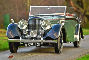 1939 Derby Bentley Overdrive MX series Drophead Coupe by Van