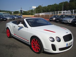 2012 12 BENTLEY CONTINENTAL 6.0 SUPERSPORTS ISR 3350 miles