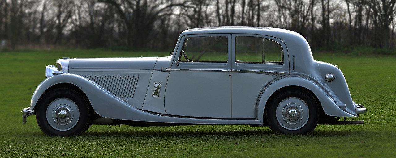 1939 1940 Derby Bentley MX series Vanden Plas overdrive Pillarles For Sale (picture 2 of 6)