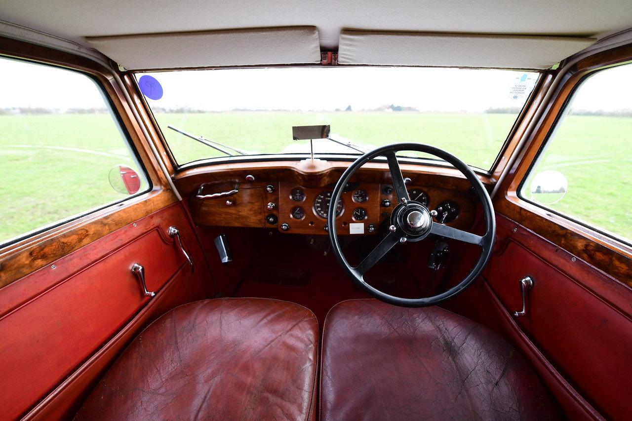1939 1940 Derby Bentley MX series Vanden Plas overdrive Pillarles For Sale (picture 4 of 6)