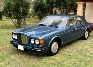1989 Bentley Tubo R Finished in Rhapsody Blue LHD