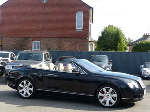 2006 BENTLEY CONTINENTAL GTC 6.0 W12 TWIN TURBO CONVERTIBLE AUTO  For Sale
