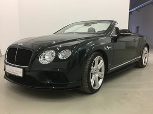 2016 Bentley Continental GT Convertible V8 S For Sale