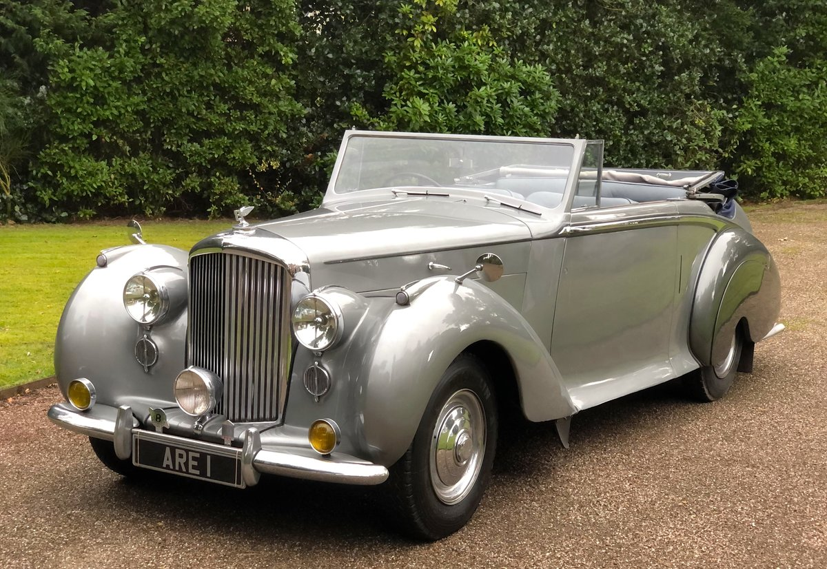 1949 Bentley MKVI Convertible        indian Royal History For Sale (picture 1 of 6)