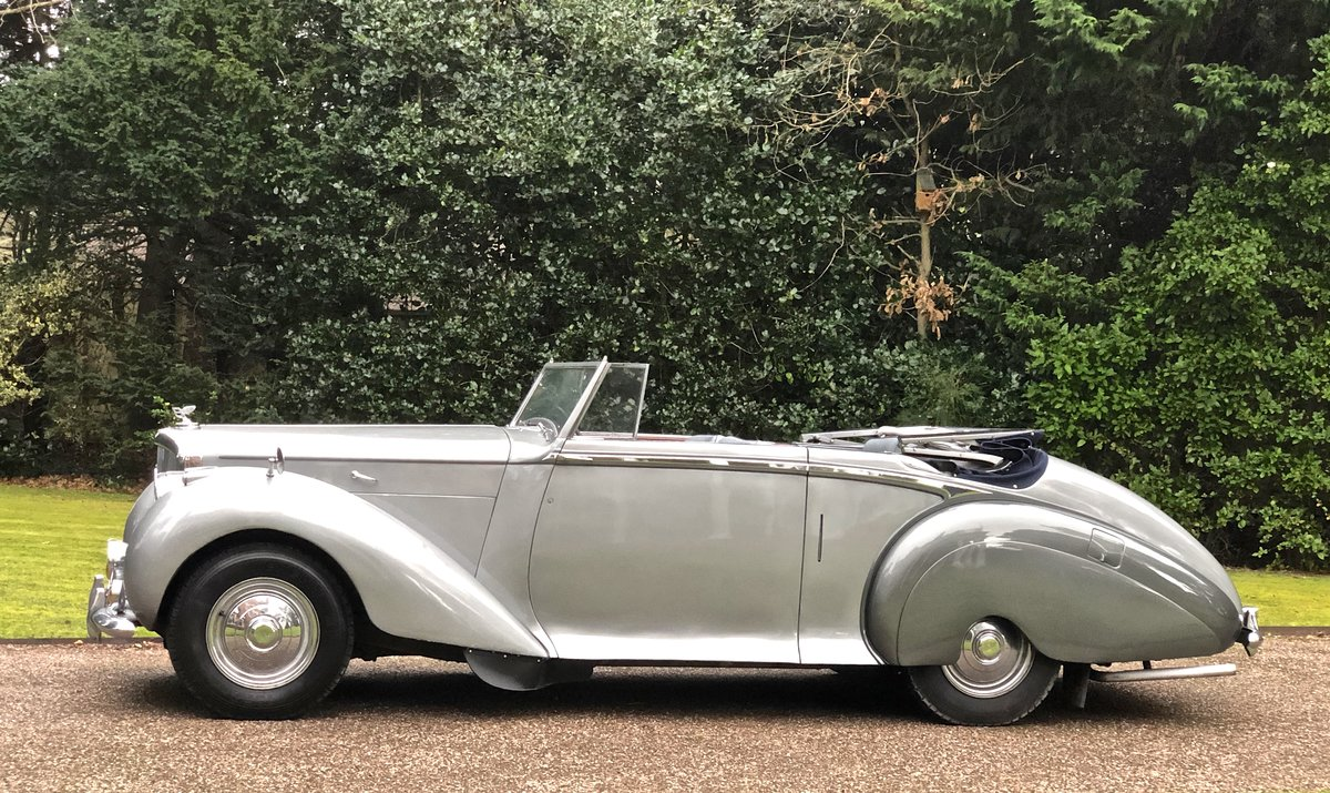 1949 Bentley MKVI Convertible        indian Royal History For Sale (picture 2 of 6)