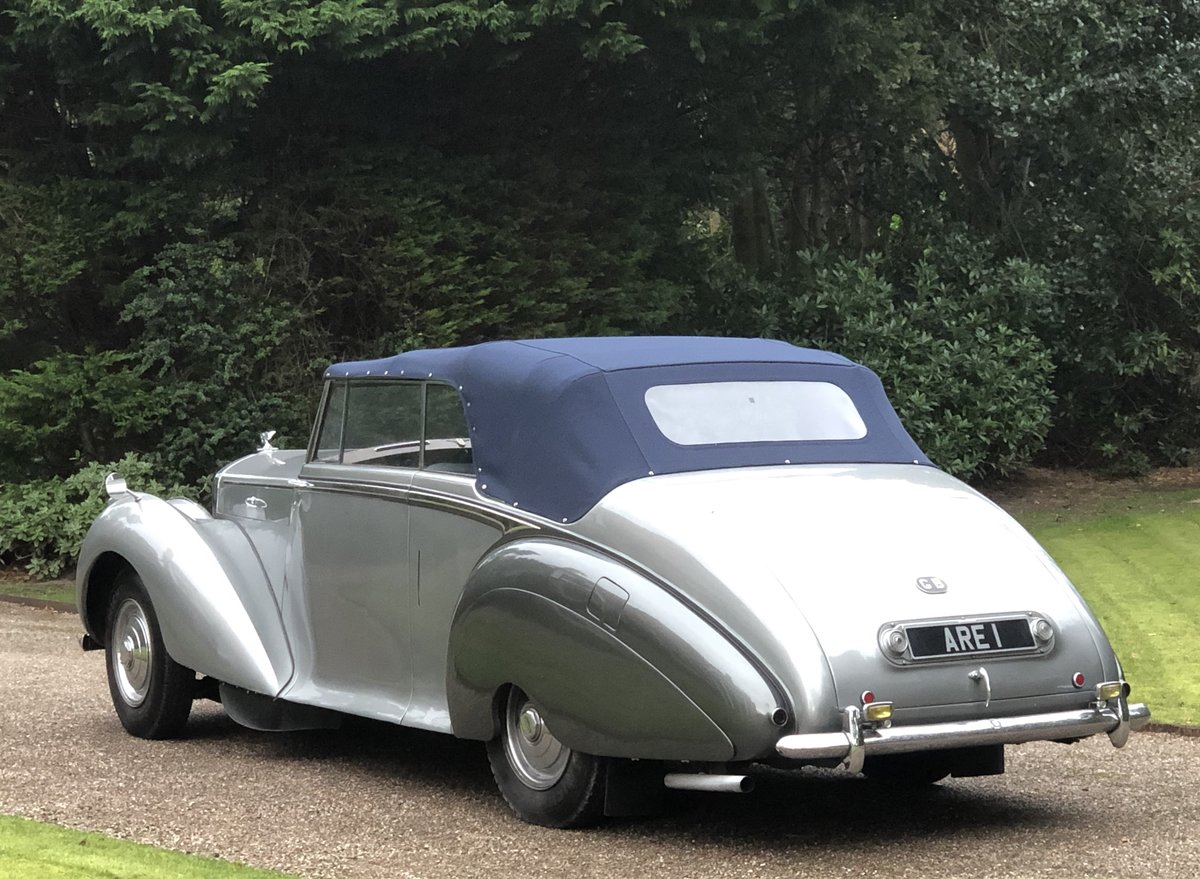 1949 Bentley MKVI Convertible        indian Royal History For Sale (picture 4 of 6)