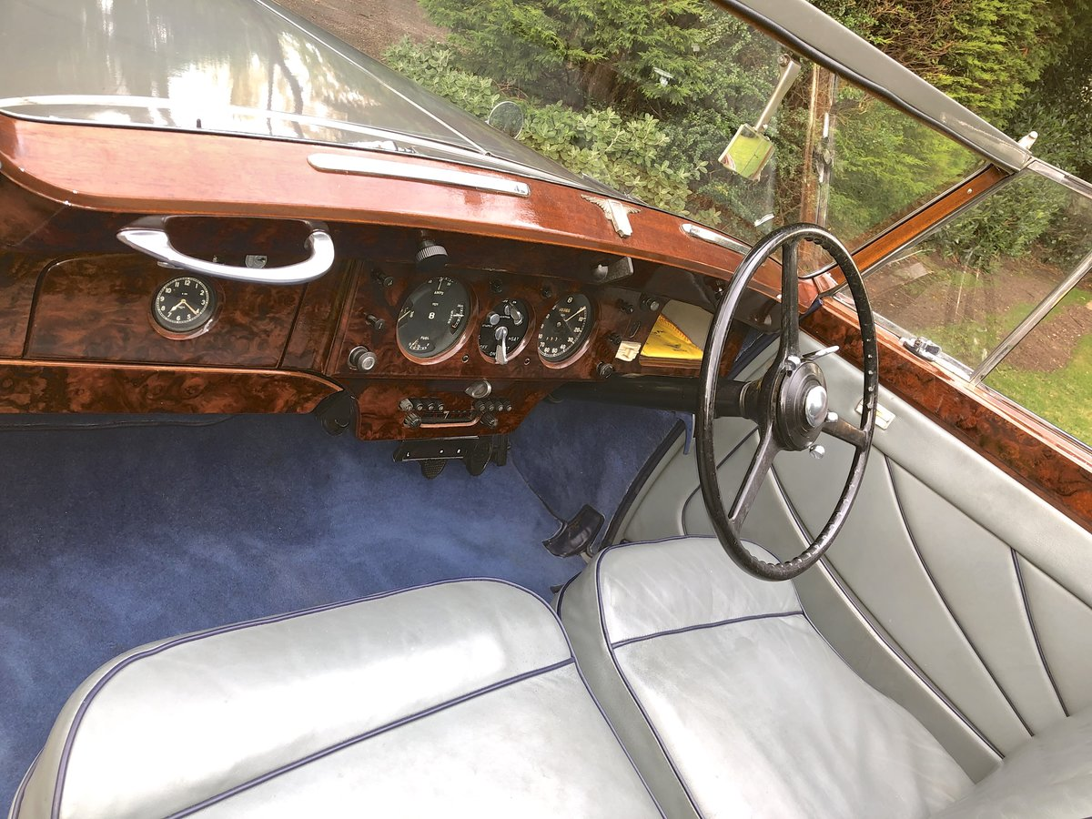 1949 Bentley MKVI Convertible        indian Royal History For Sale (picture 5 of 6)