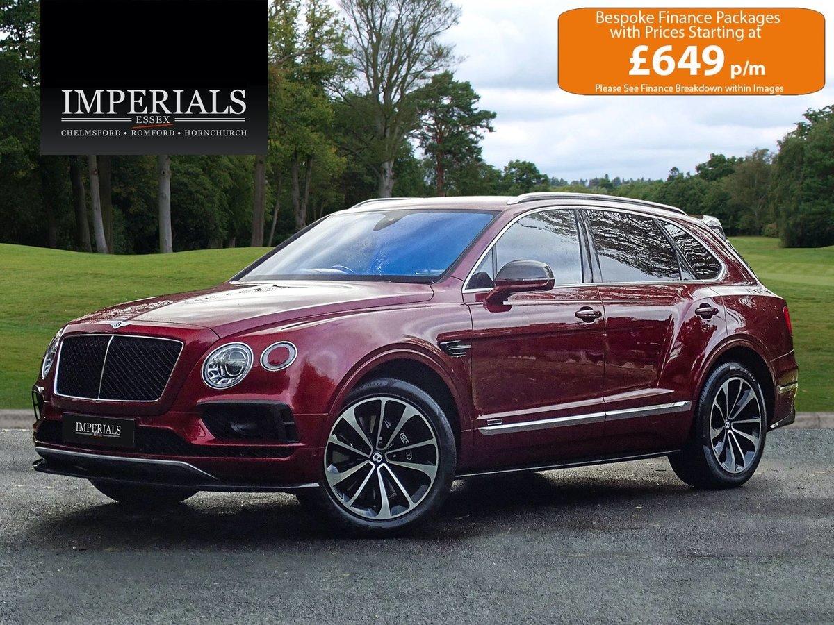 2017 Bentley  BENTAYGA  V8 DIESEL MULLINER AUTO  109,948 For Sale (picture 1 of 24)