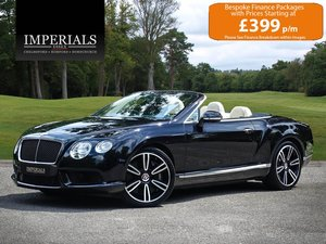 2014 Bentley  CONTINENTAL GTC  4.0 V8 MULLINER CABRIOLET AUTO  66 For Sale
