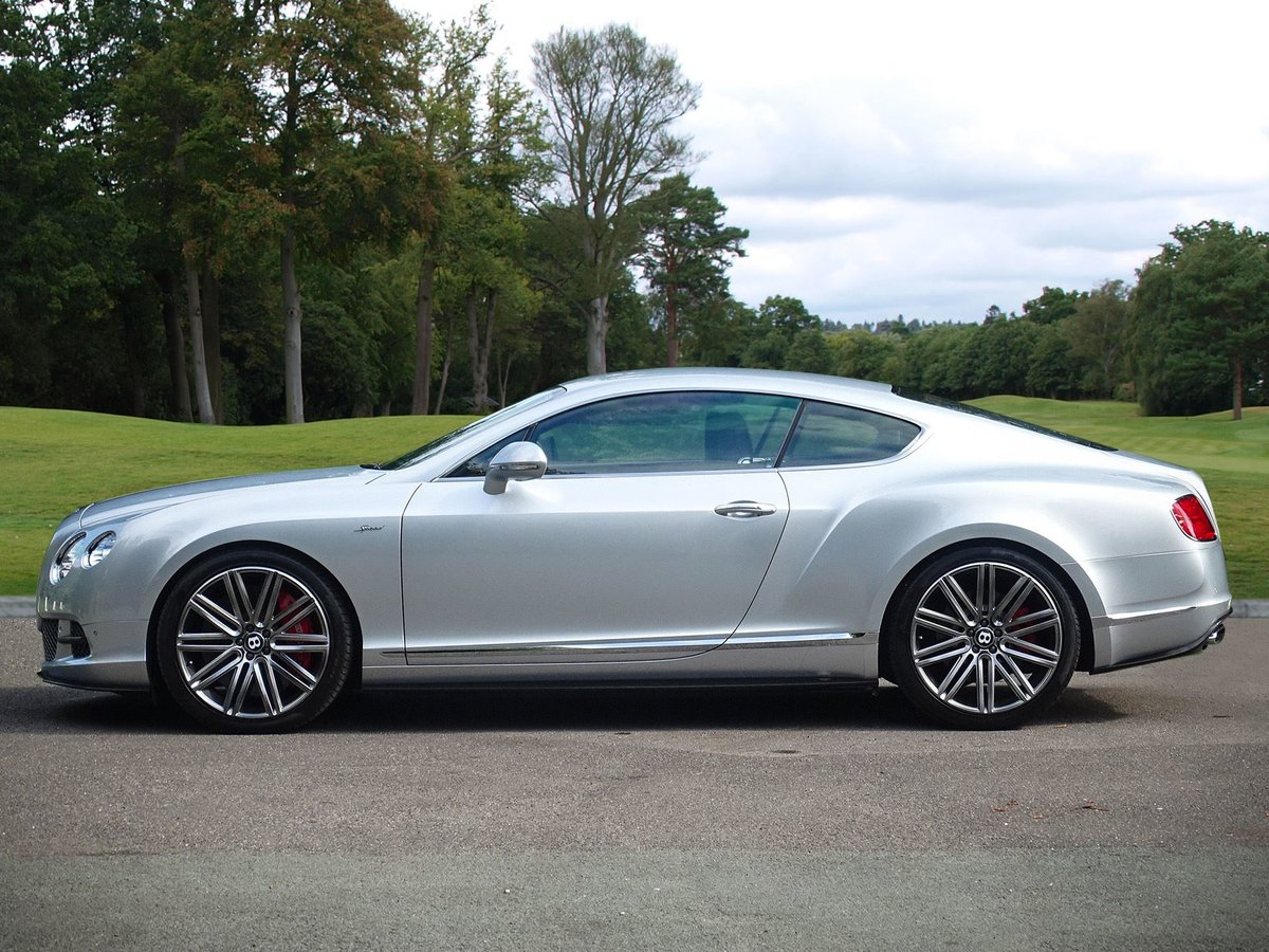 2016 Bentley  CONTINENTAL GT  SPEED COUPE AUTO  74,948 For Sale (picture 2 of 24)