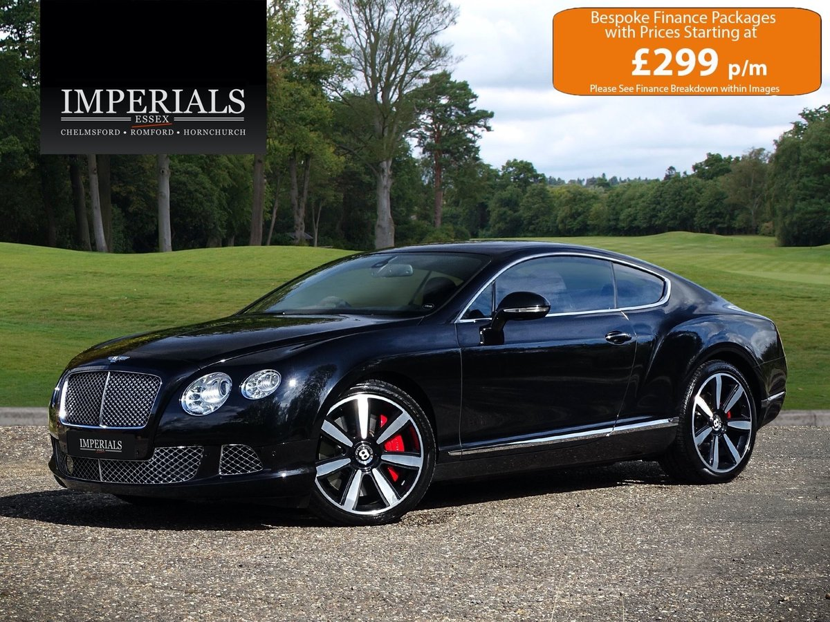 2011 Bentley  CONTINENTAL GT  6.0 W12 MULLINER COUPE 2012 MODEL A For Sale (picture 1 of 24)