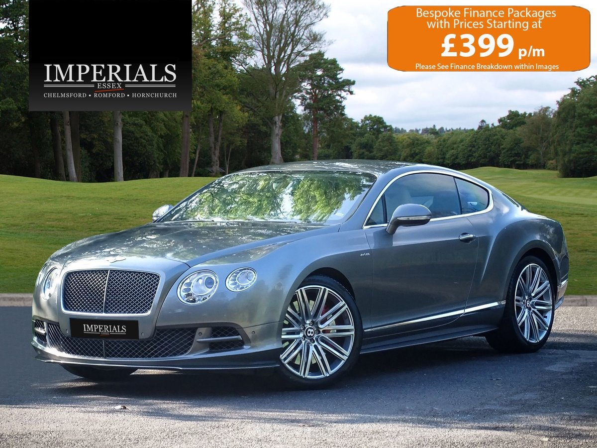 2014 Bentley  CONTINENTAL GT  SPEED COUPE AUTO  59,948 For Sale (picture 1 of 24)
