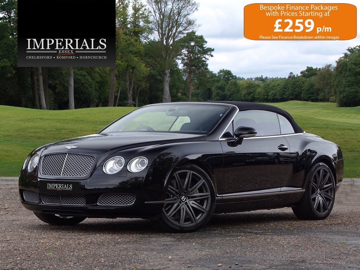 Bentley  CONTINENTAL GTC  MULLINER CABRIOLET 2008 MODEL AUTO For Sale (picture 1 of 21)