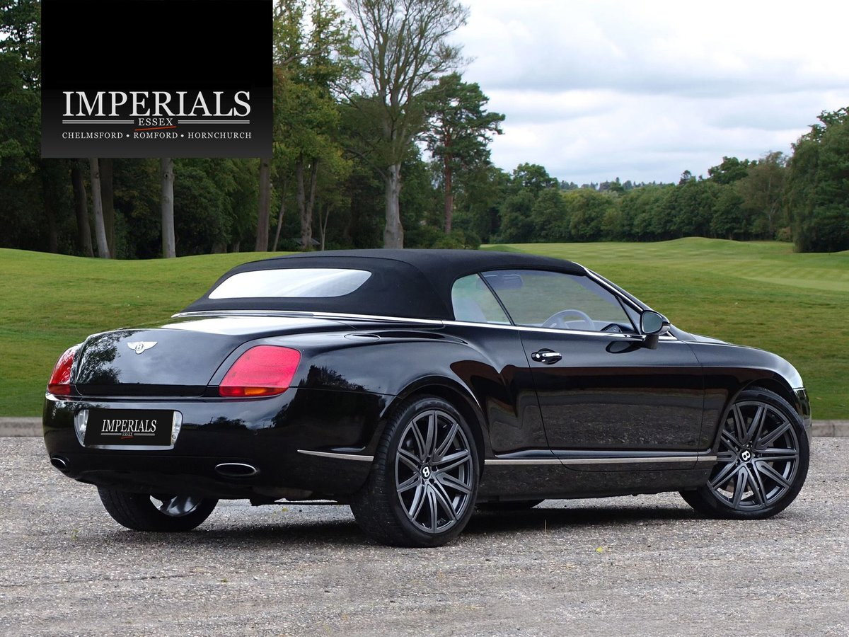 Bentley  CONTINENTAL GTC  MULLINER CABRIOLET 2008 MODEL AUTO For Sale (picture 4 of 21)