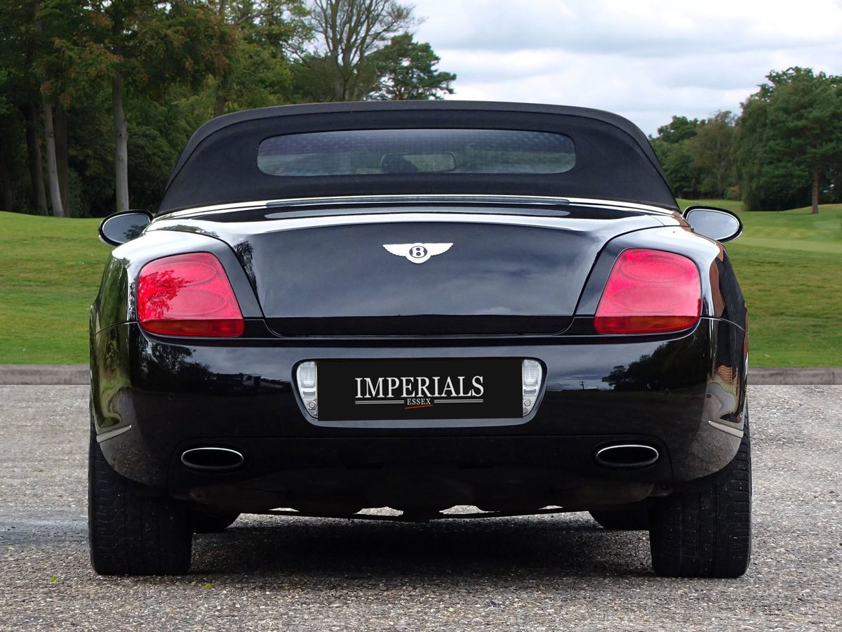 Bentley  CONTINENTAL GTC  MULLINER CABRIOLET 2008 MODEL AUTO For Sale (picture 10 of 21)