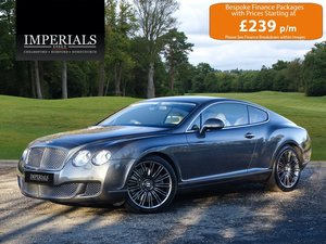2009 Bentley  CONTINENTAL GT  SPEED COUPE AUTO  35,948